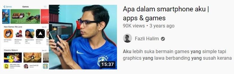 idea buat video youtube